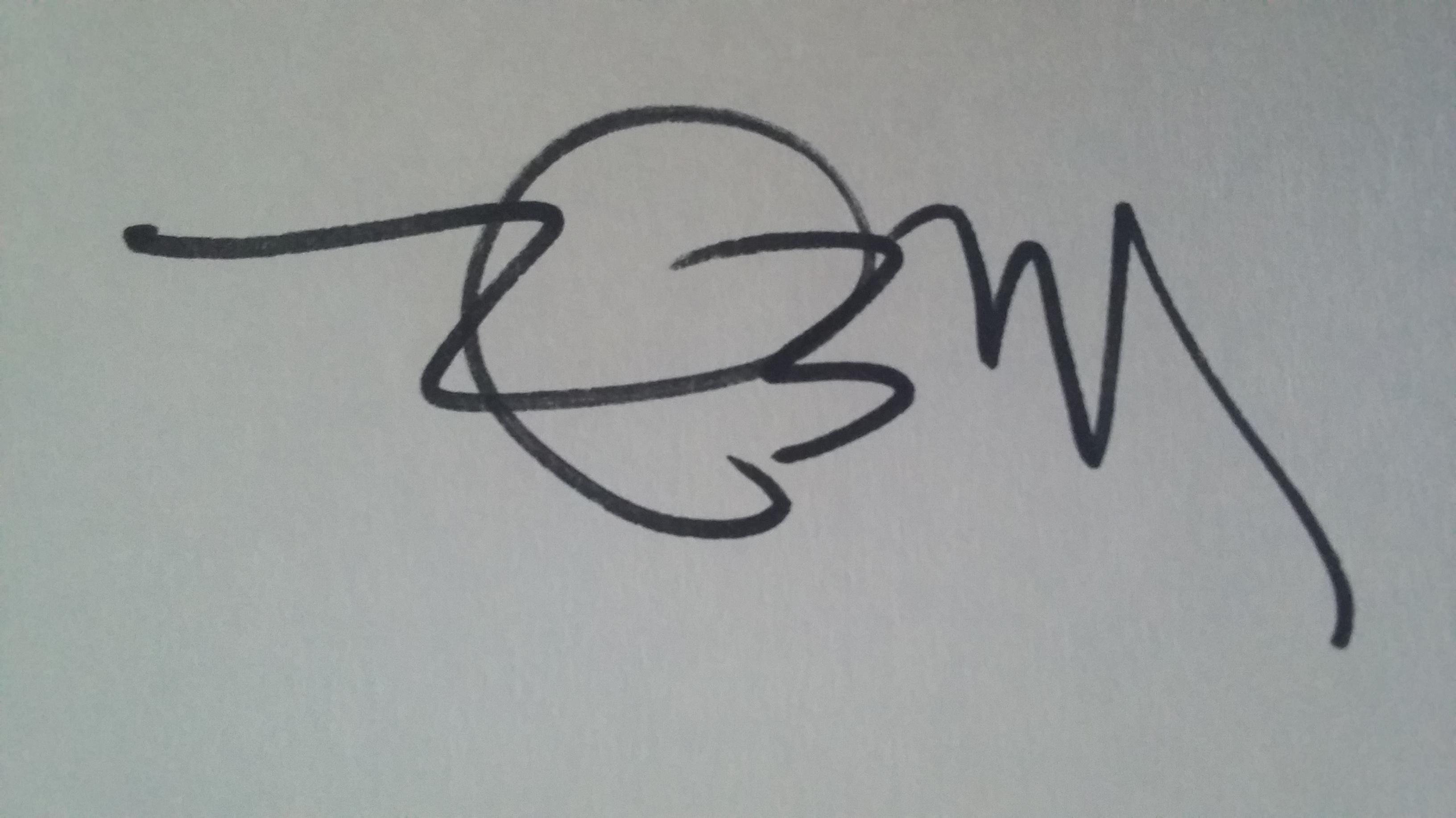 Maria Elena Ferran Signature