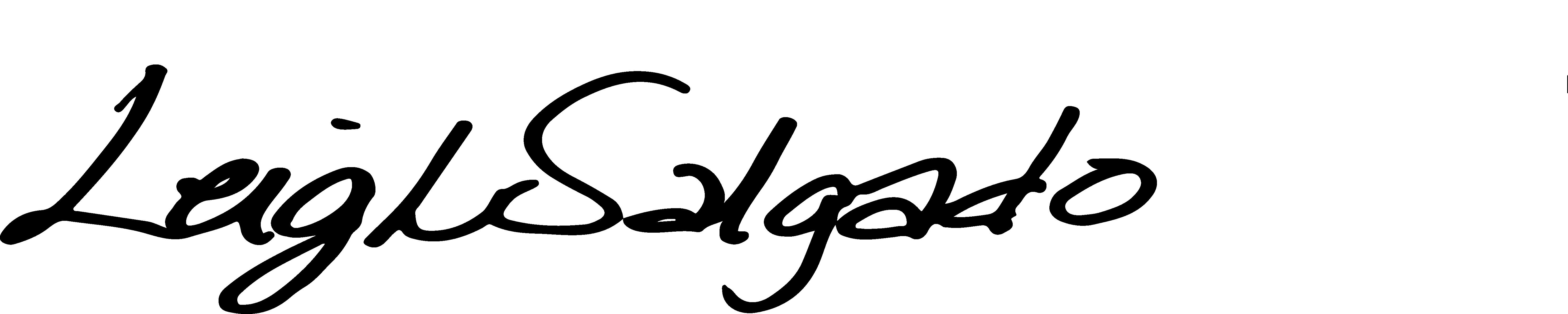 Leigh Salgado Signature