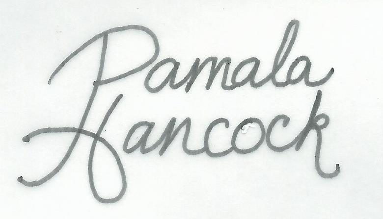 Pamala Hancock Signature