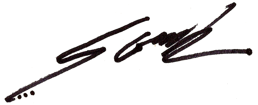 steve greek Signature