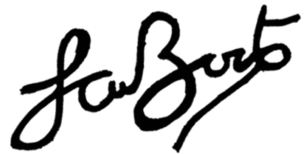 Sarfo Boateng Signature