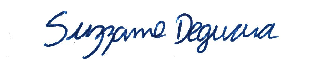 Suzzanne Deguara Signature