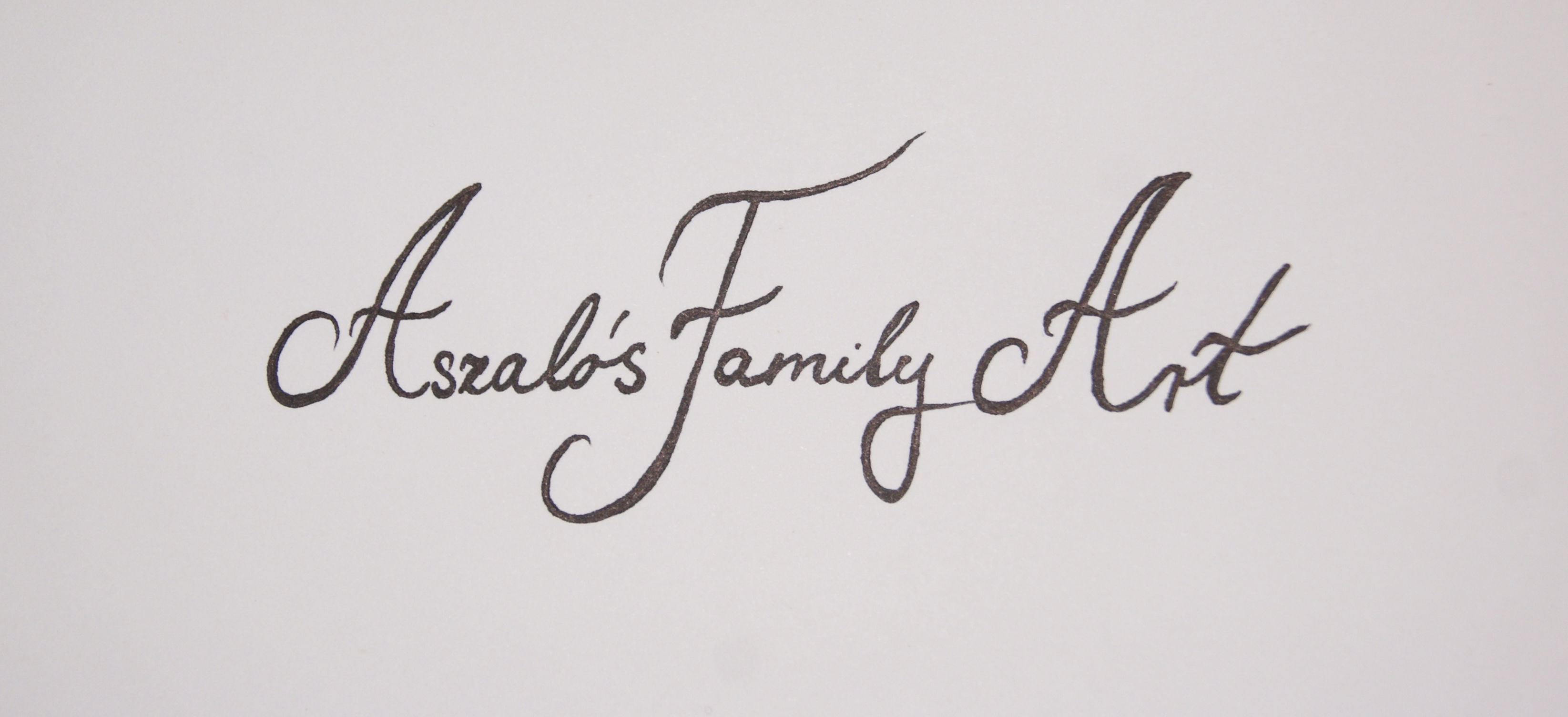 AszalÓs Art Family Signature