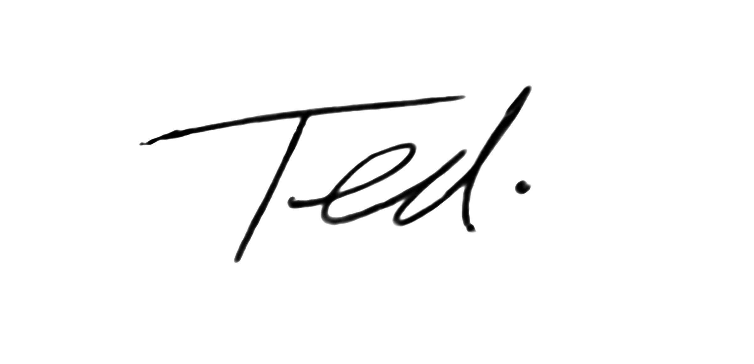 edward Larson Signature