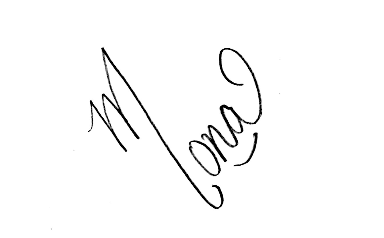 Mona Chopra Signature