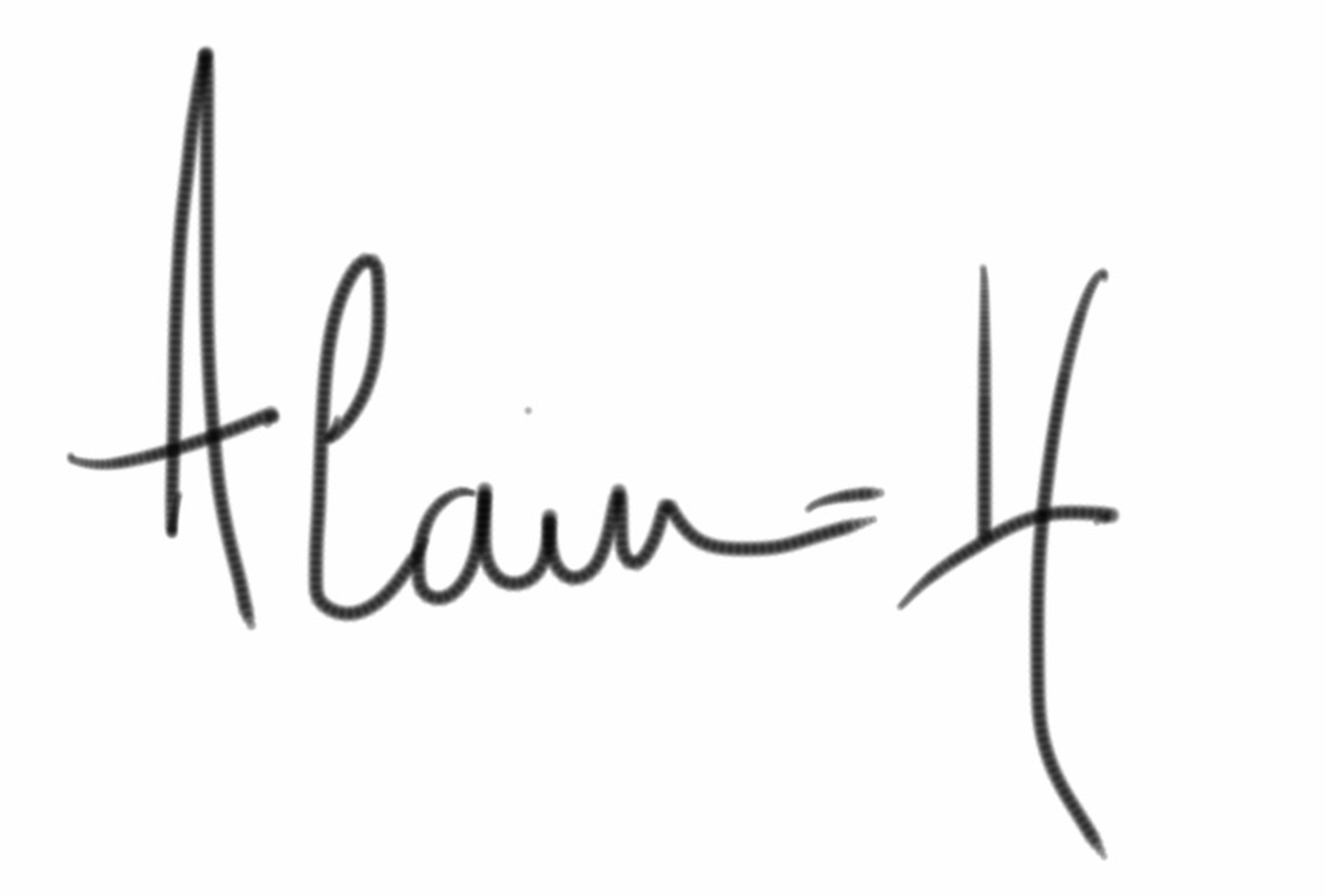 Alain-H Guyot Signature