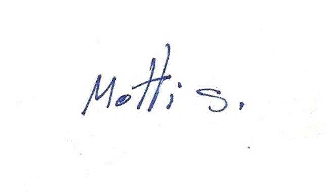 Motti Shoval Signature