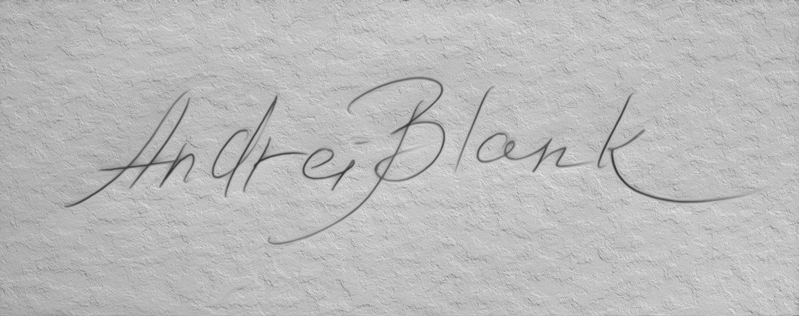 Andrei Blank Signature