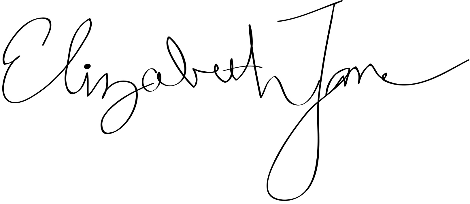 Elizabeth Jane Signature