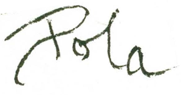 Pola lAnzaro Signature
