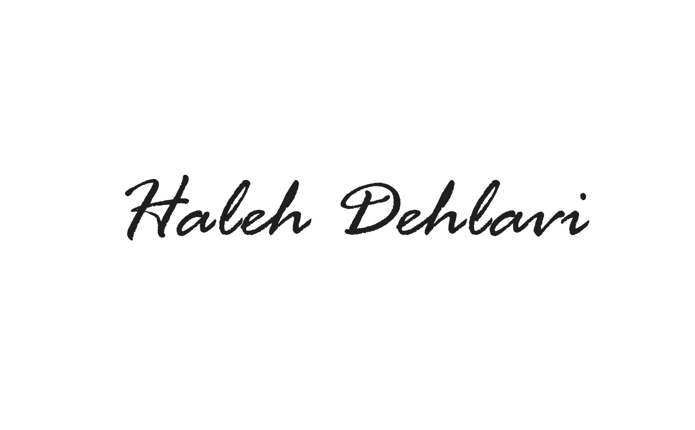 Haleh Dehlavi Signature