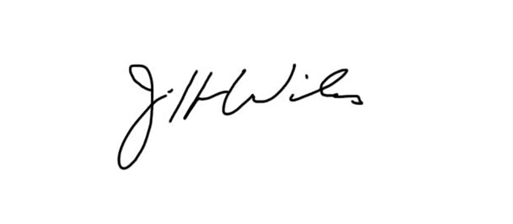 Jeff WILES Signature