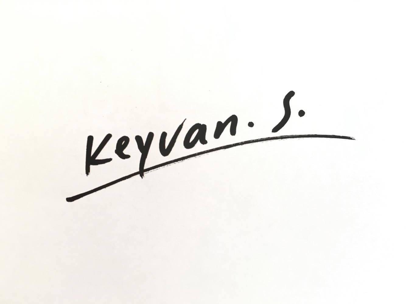 Keyvan S. Signature