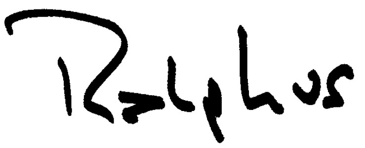 Ralph Swalsky Signature