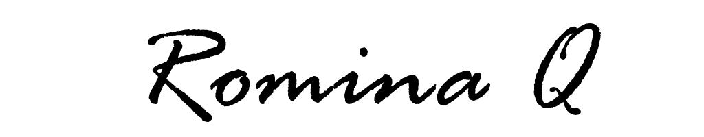 Romina Q Signature