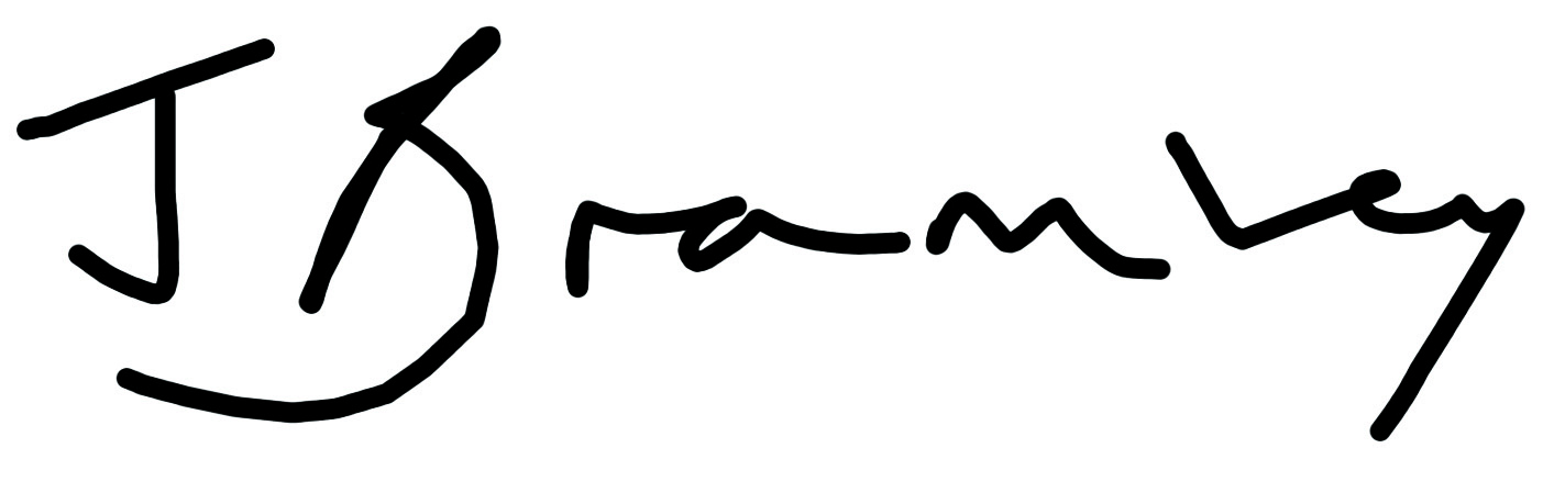 Julie Bramley Signature