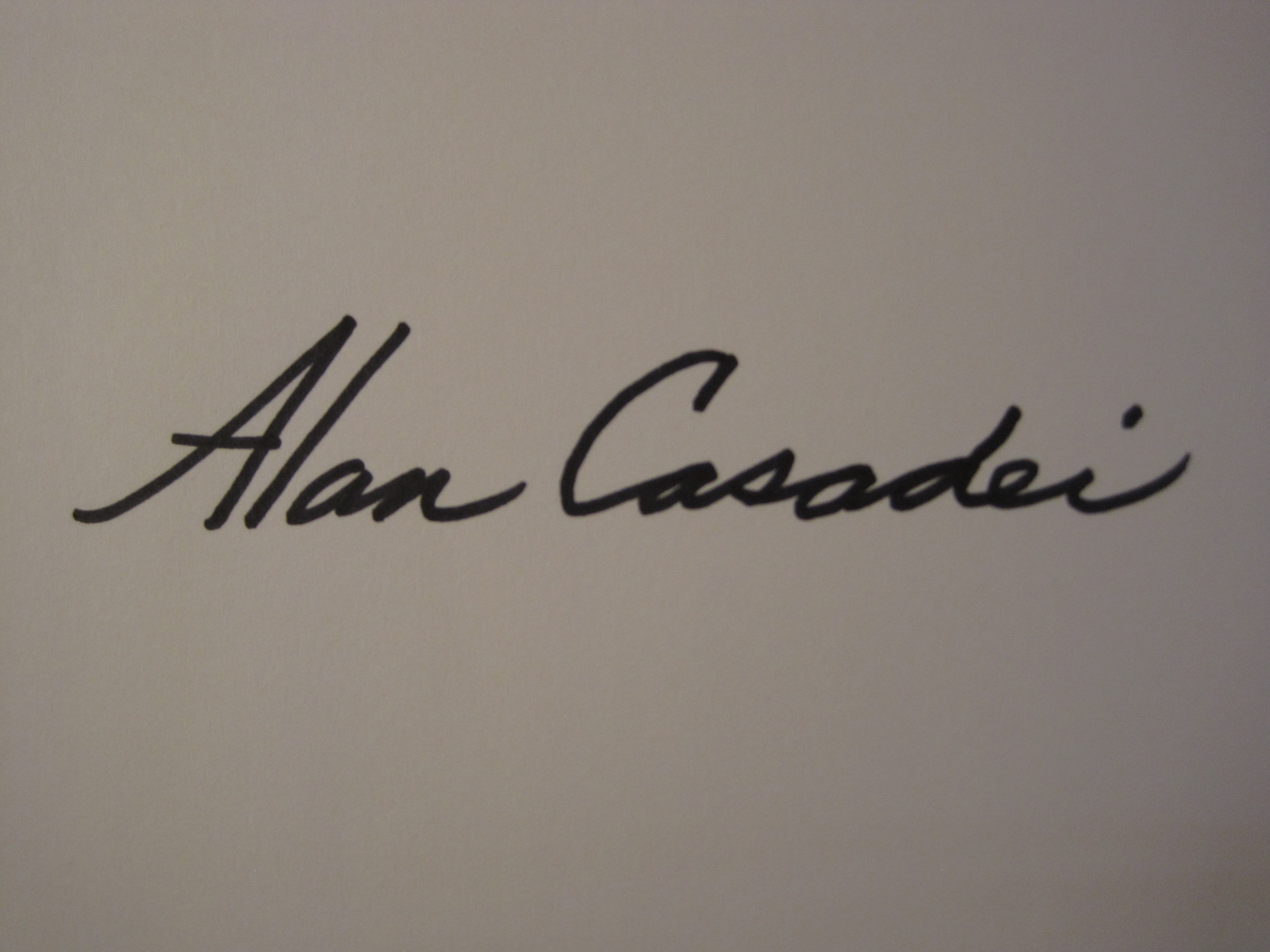 Alan Casadei Signature