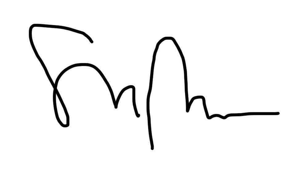 Isabelle Boucher Signature