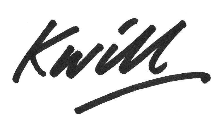 Kevin Williamson Signature