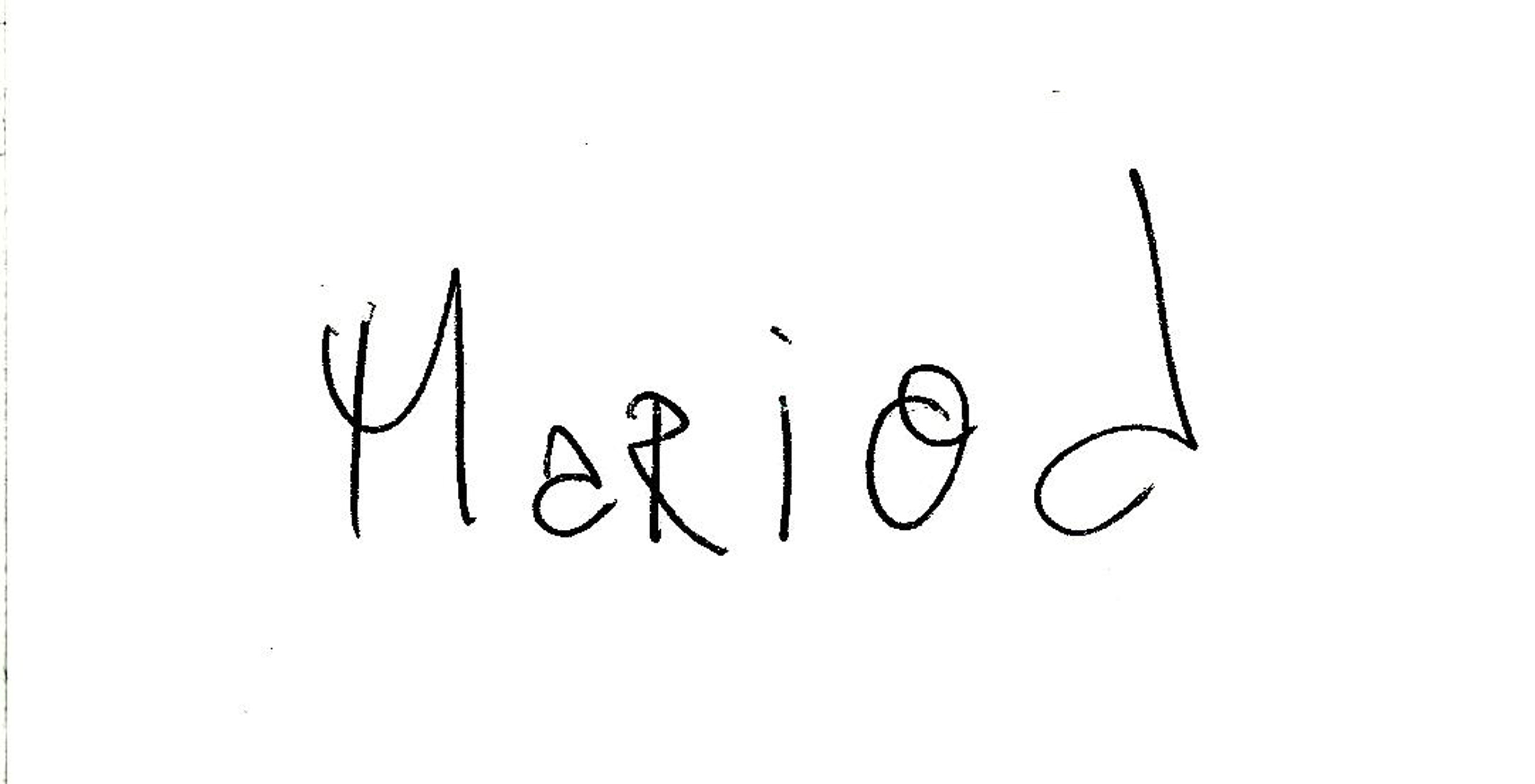 Mario Deschenes Signature