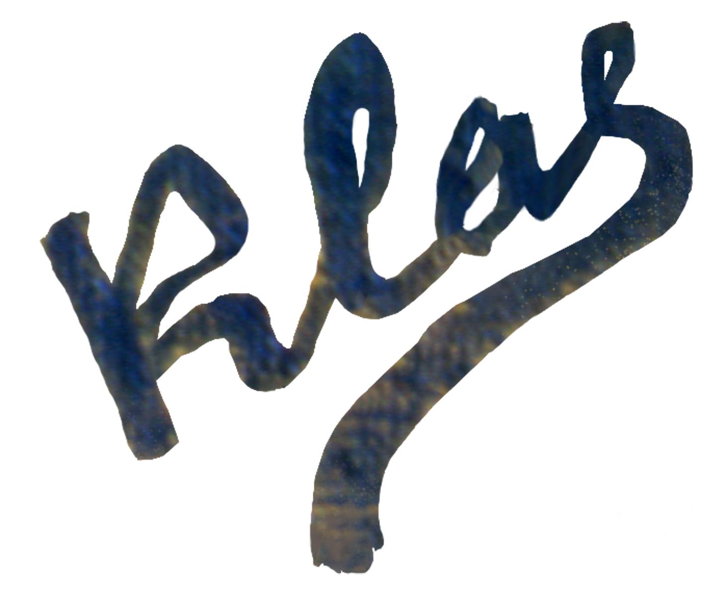 Alex Klas Signature