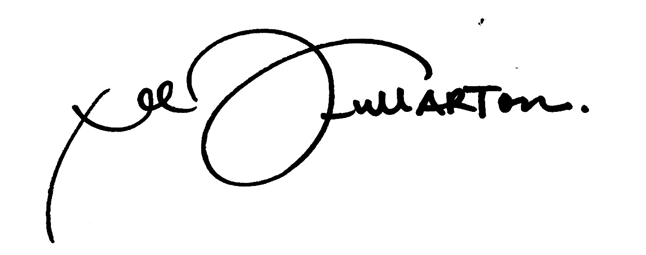 Lee FullARTon Signature