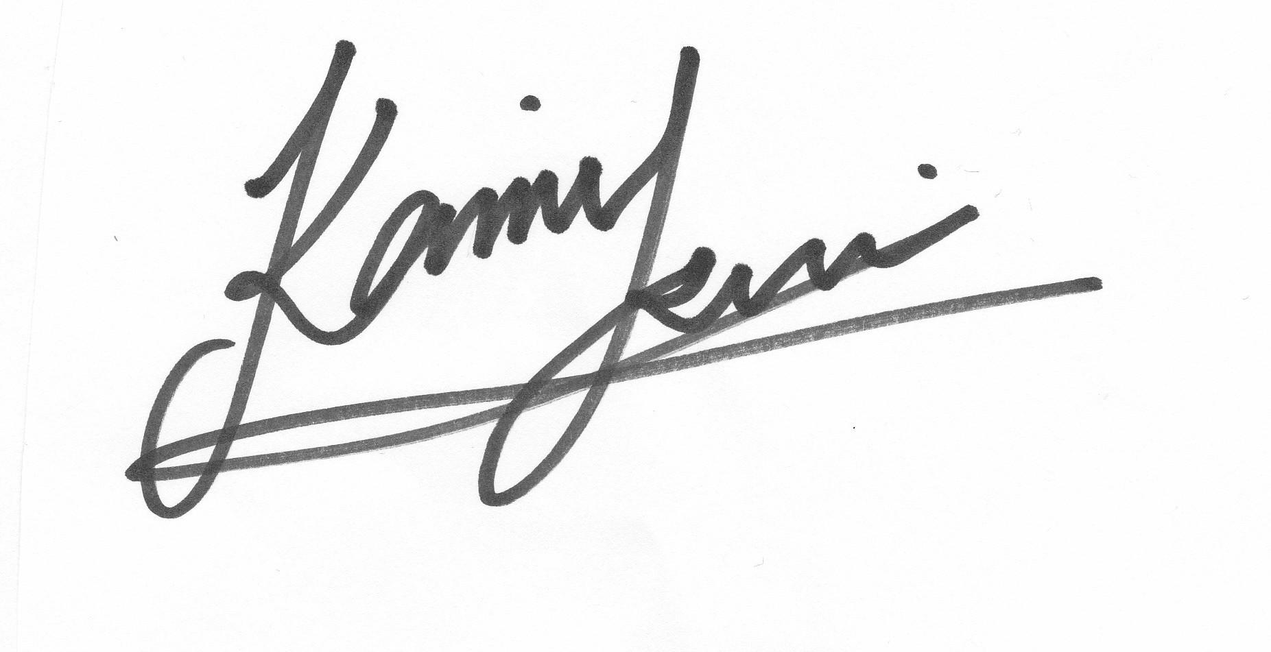 KAMI TSUI Signature