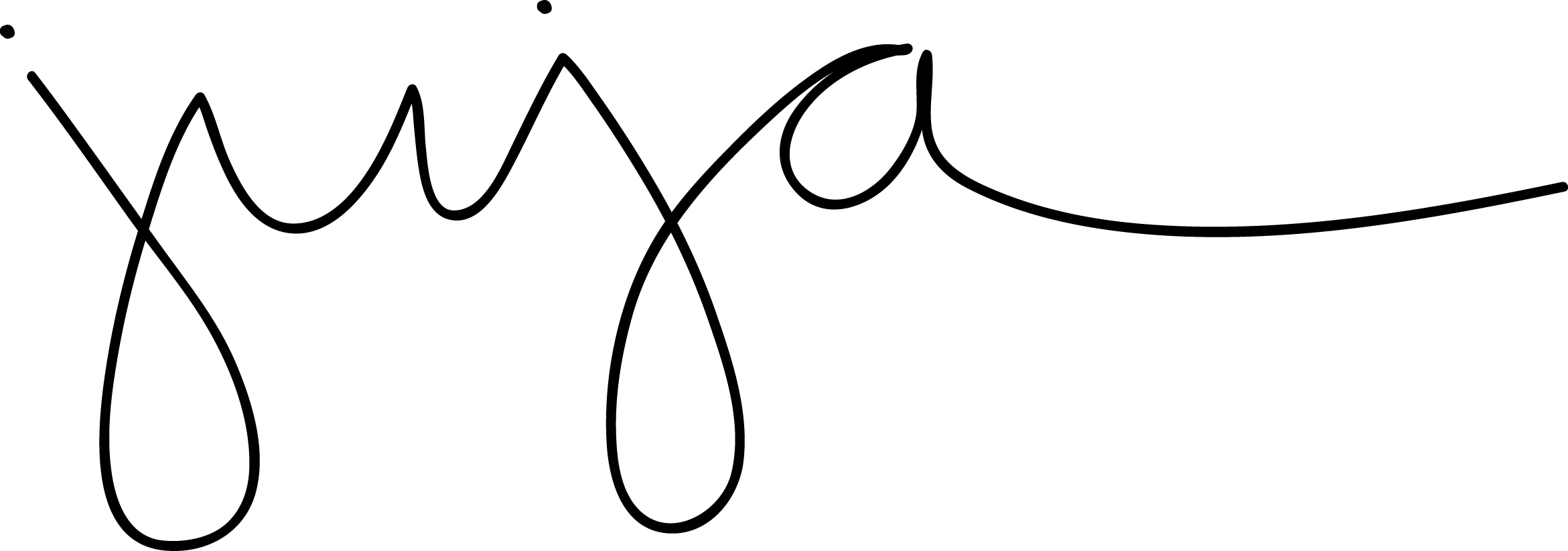 Julé CARRUTH Signature