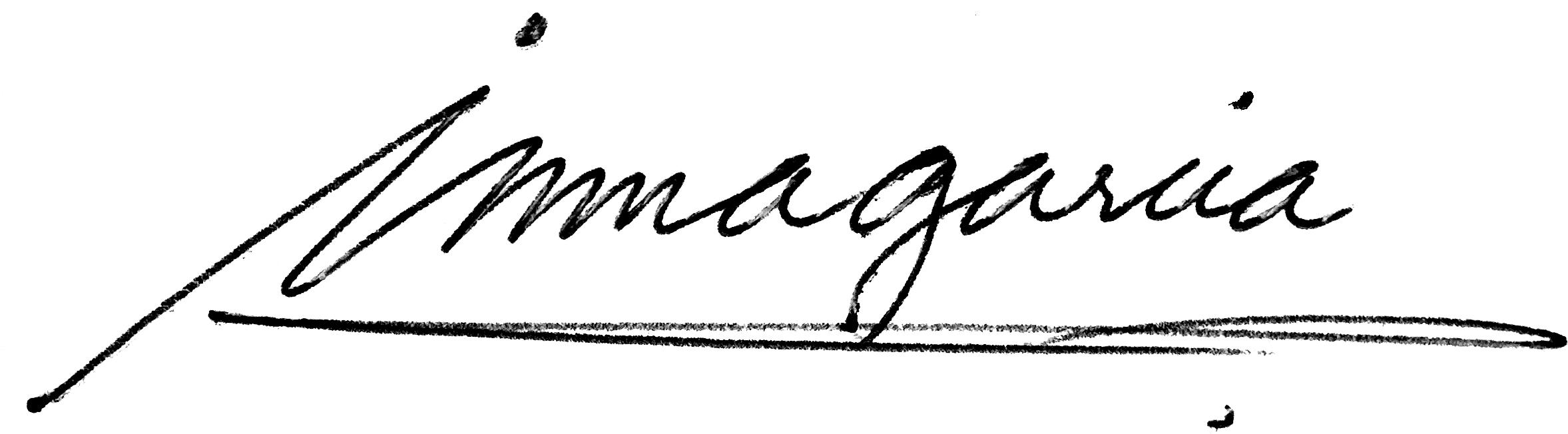 Inma Garcia Signature