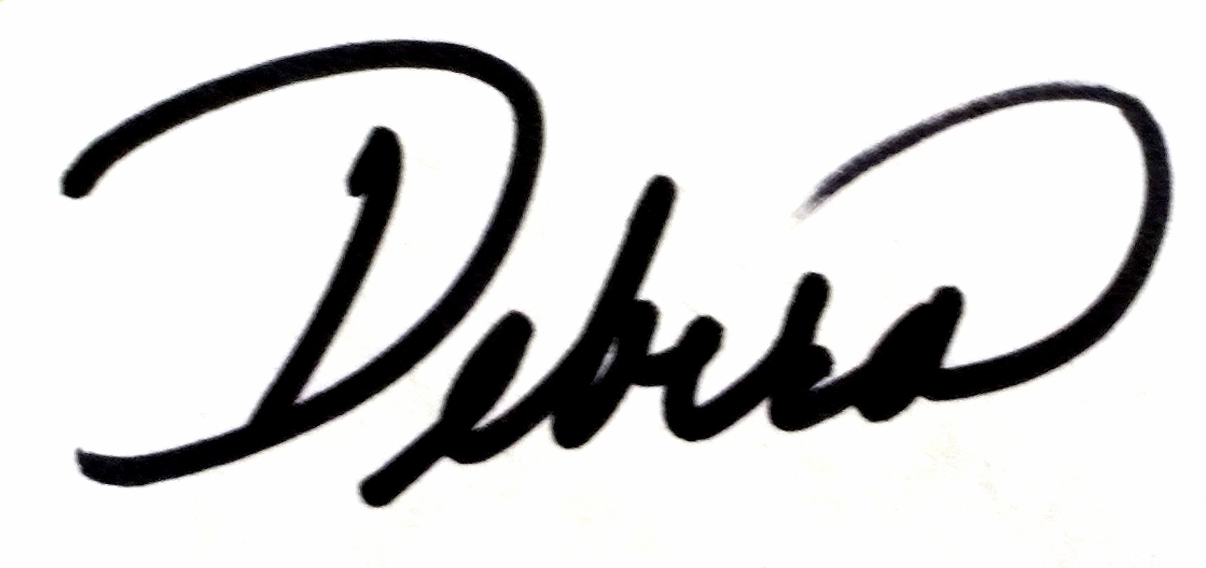 Debra Fishpaw Signature