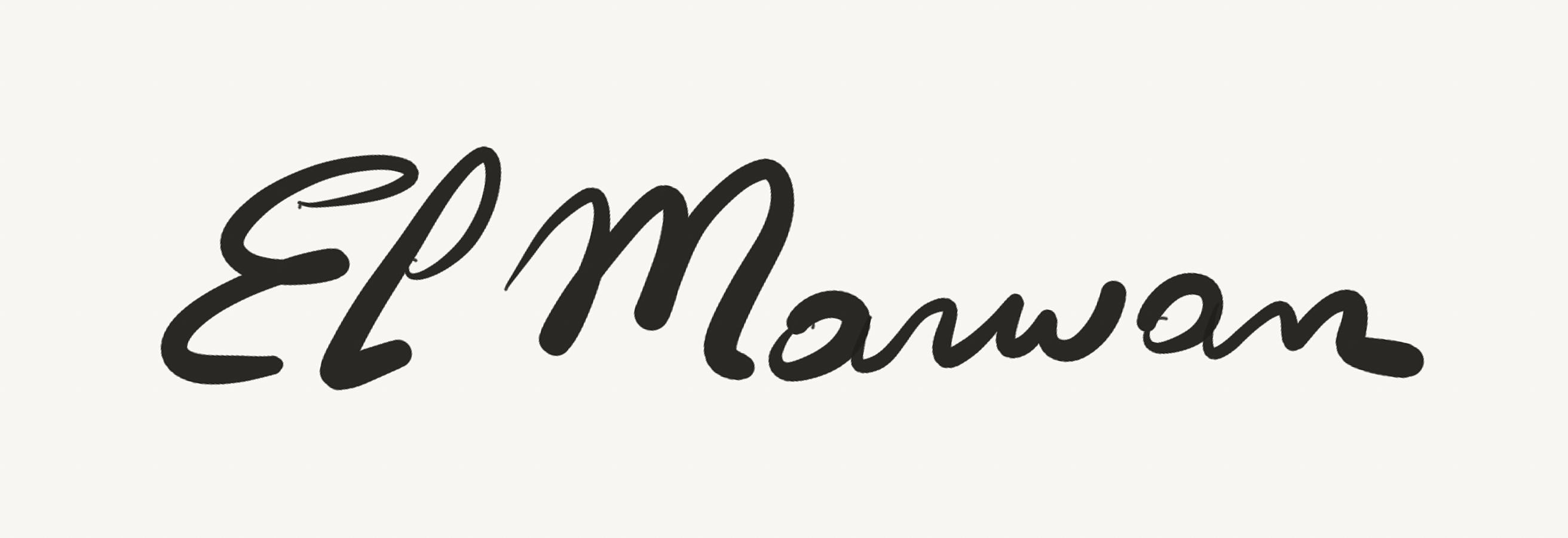 Marwan El Hassan Signature