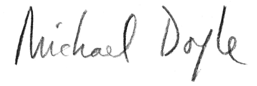 Michael Doyle Signature