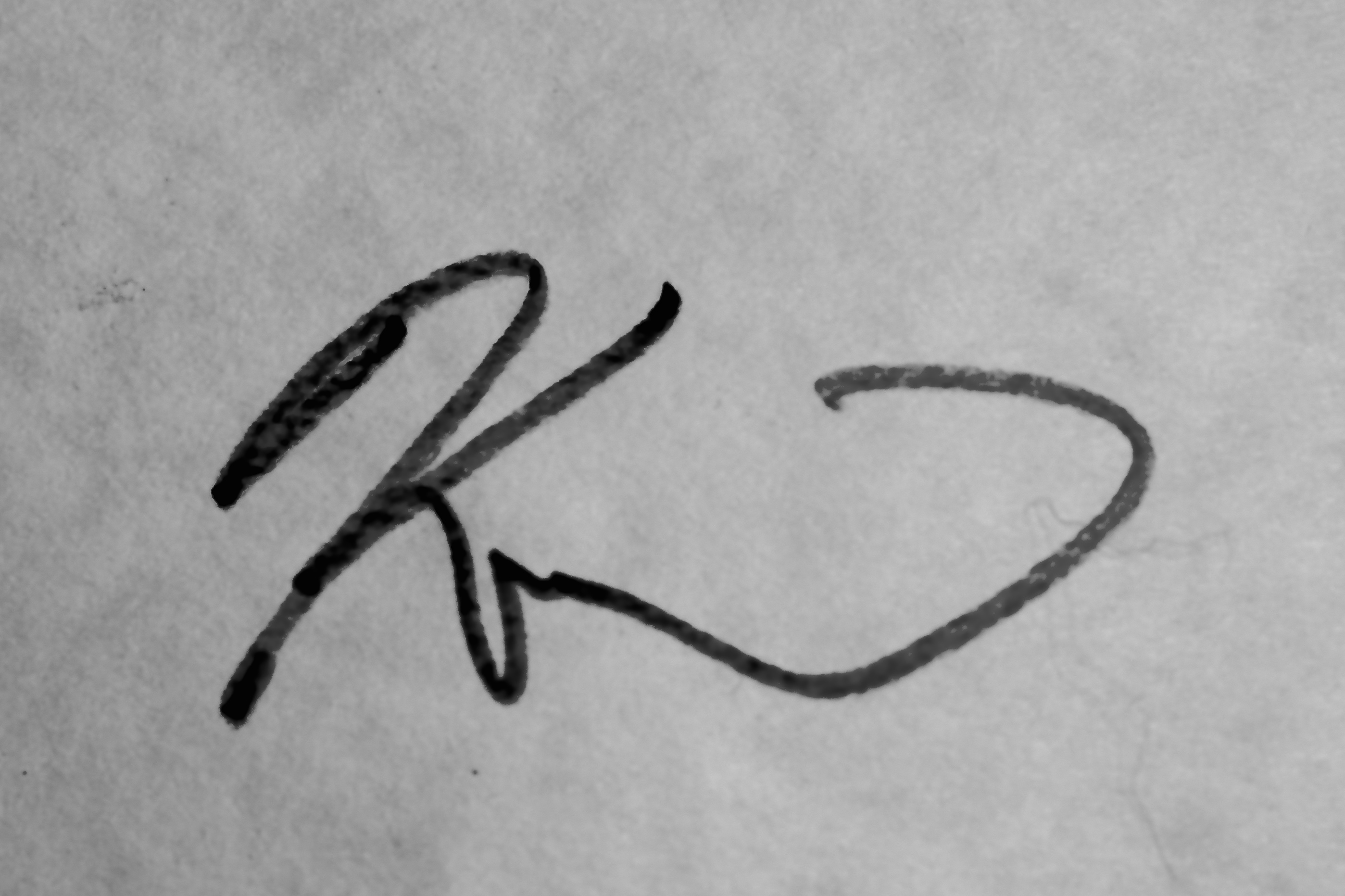 Kurt Garrison Signature