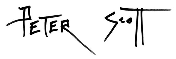 peter Scott Signature