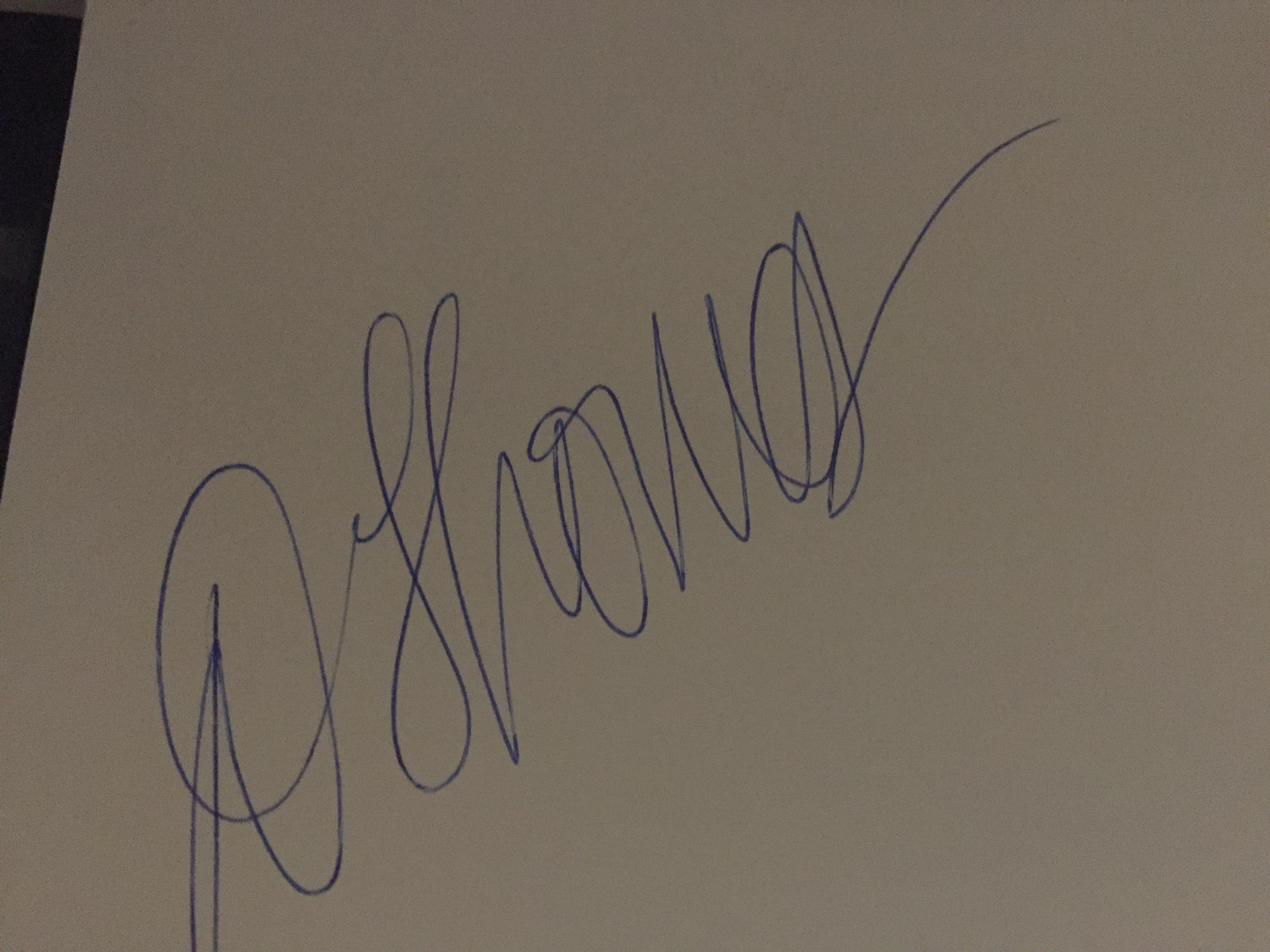 Dawn thomas Signature