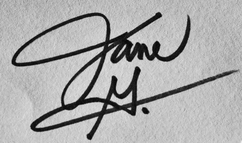 Jane Geist Signature