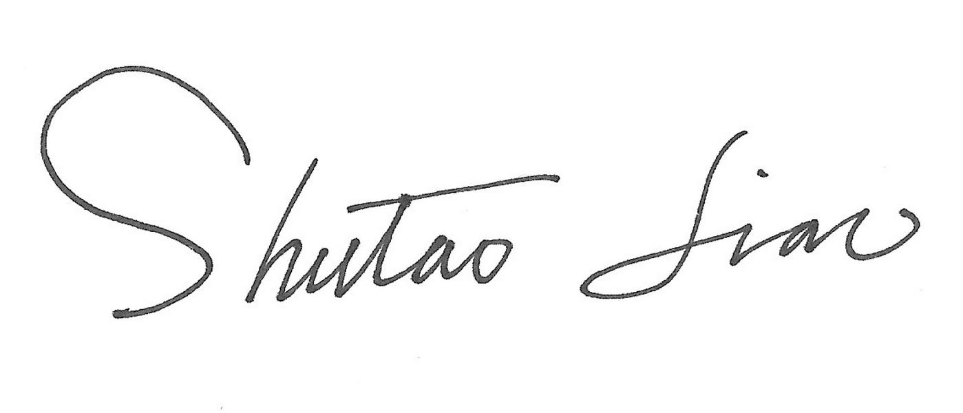 Shutao Liao Signature