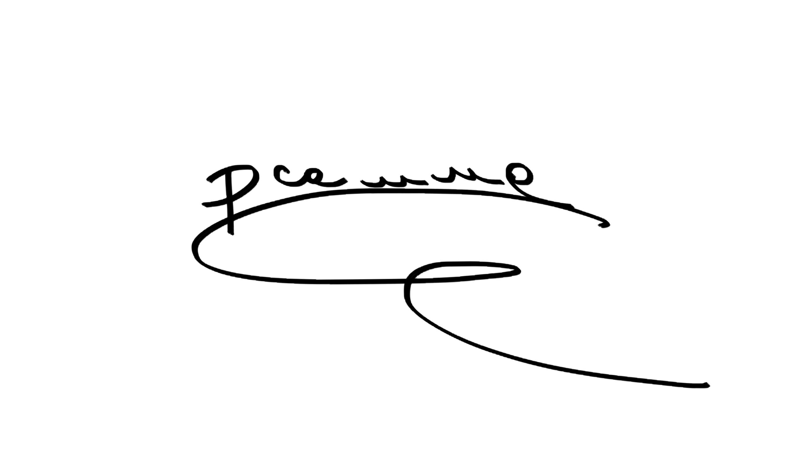 Paola Cammarata Signature