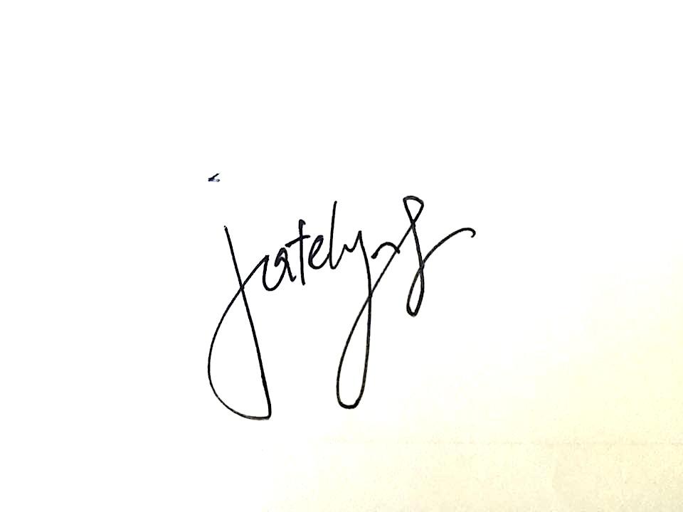 Joyce Sze Signature