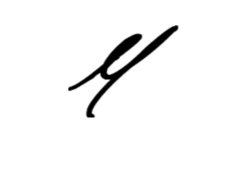 Michelle Heck Signature