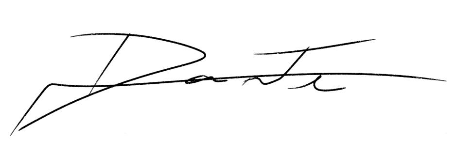 Dante Nideck Signature