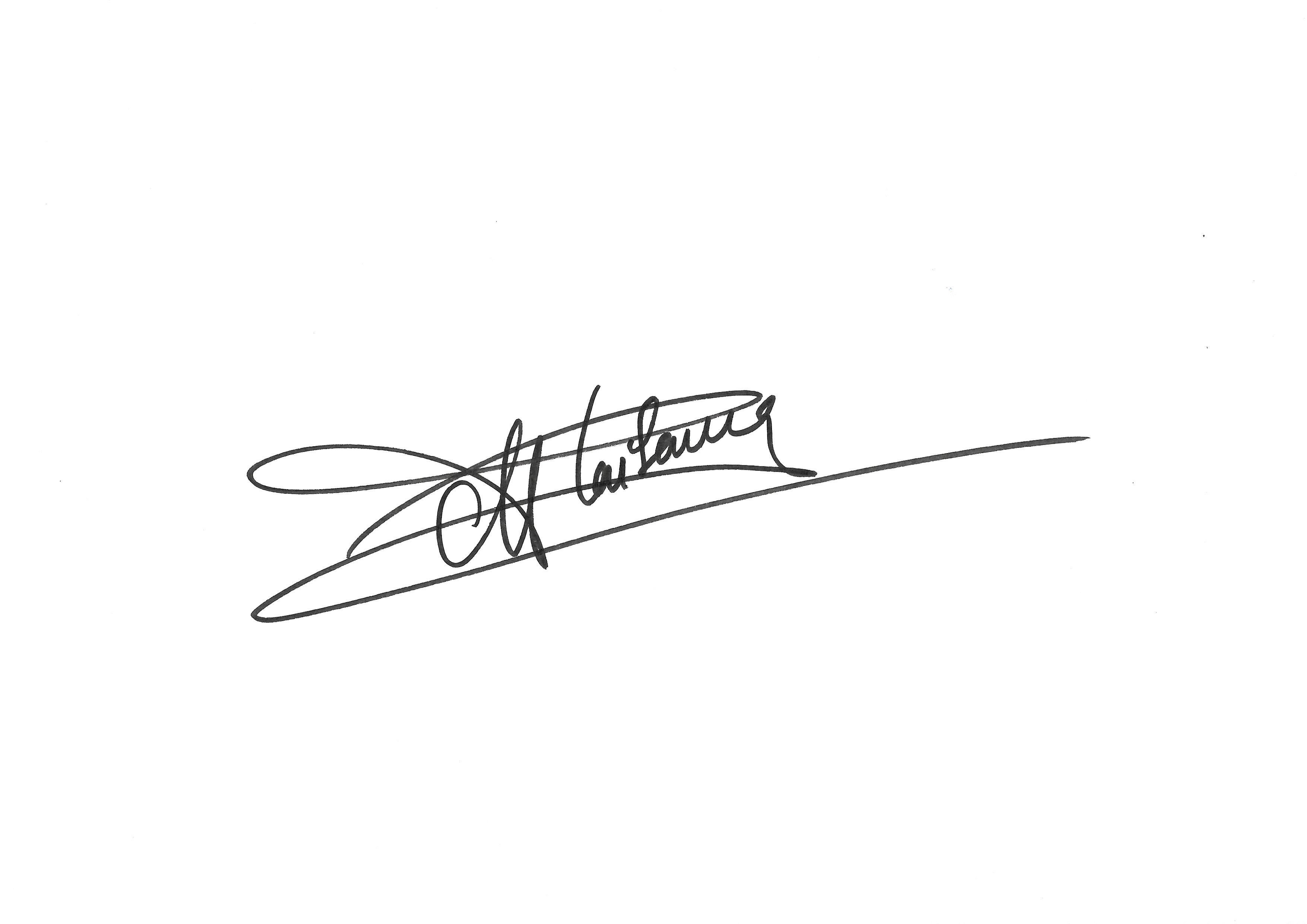 Anne Plaisance Signature