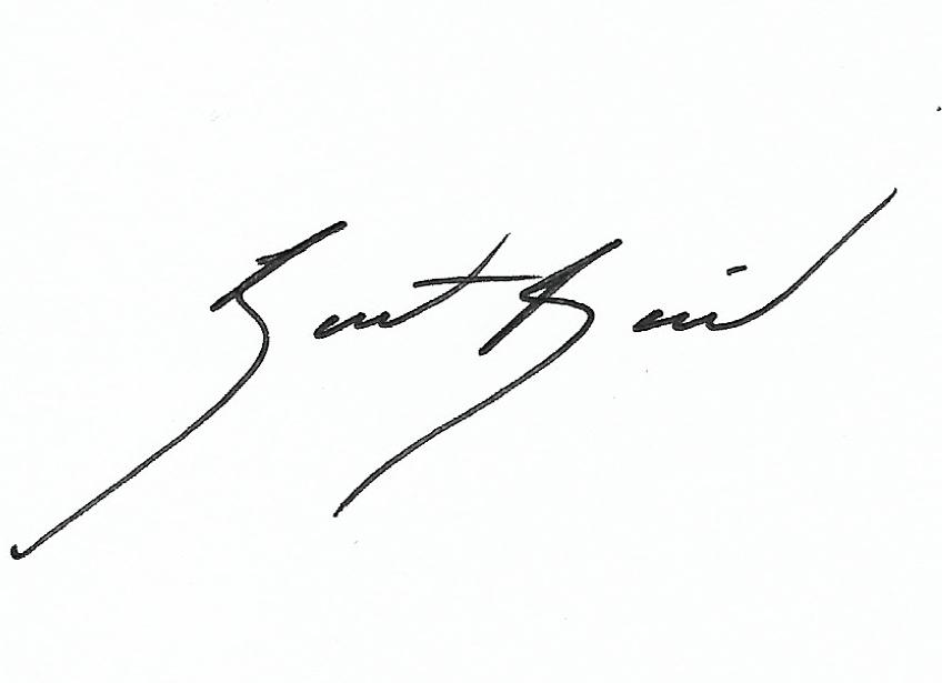 Bart Baird Signature