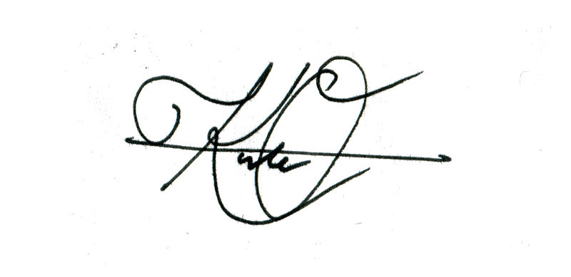 Kate O'Keefe Signature