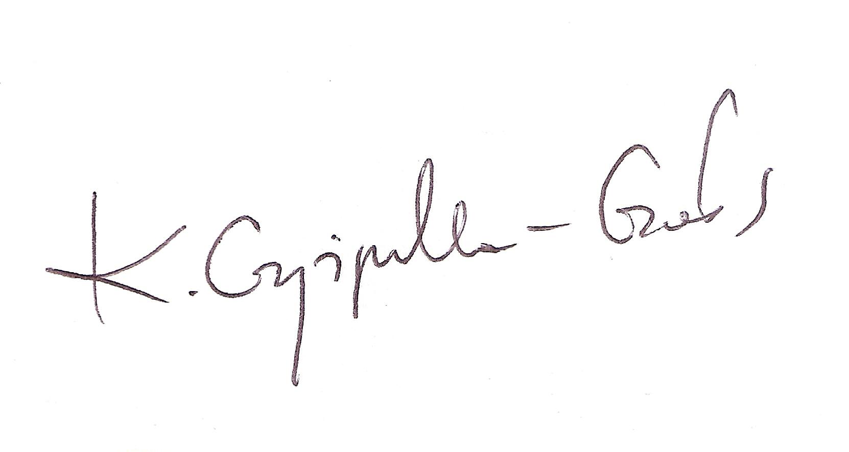 Katarzyna Czyżyńska - Gołos Signature