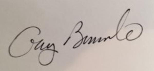 Gary Bernardo Signature
