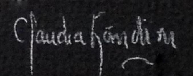 claudia landini Signature
