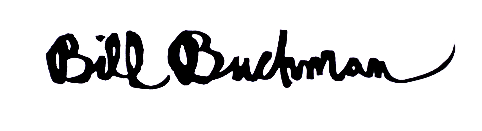 Bill Buchman Signature
