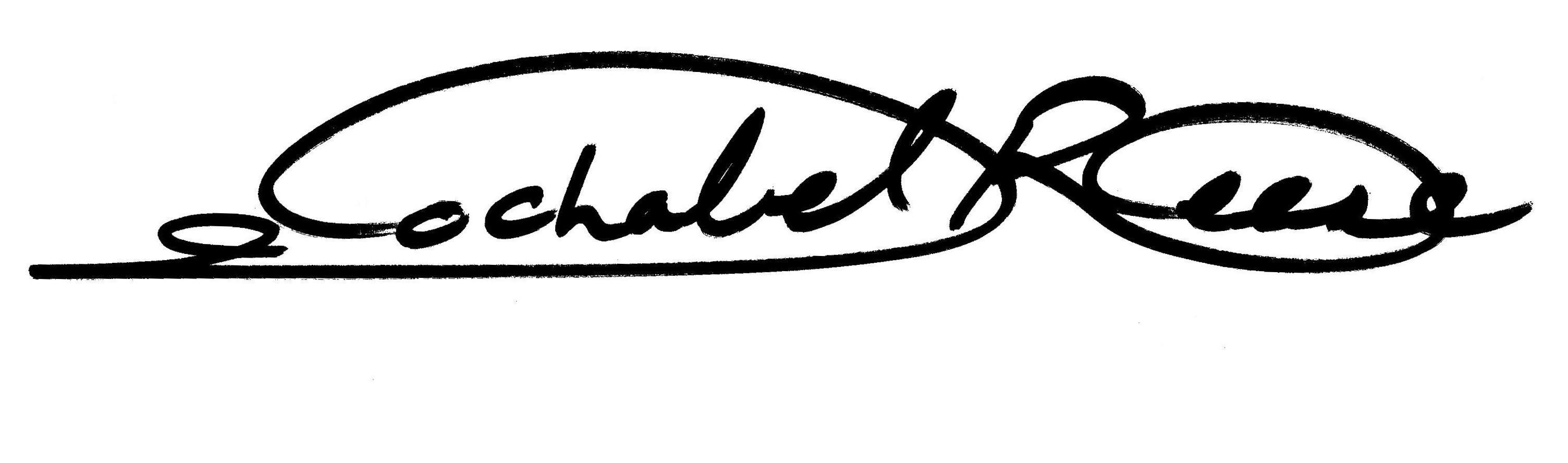 Jochabel Reese Signature