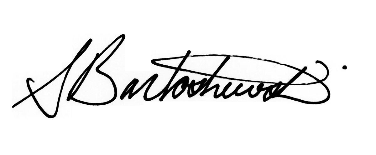 Shannon Bartoshewski Signature